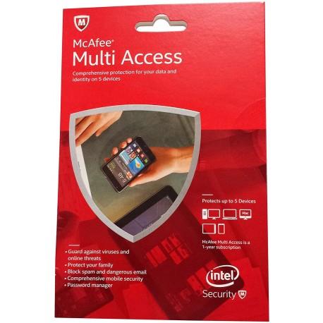 McAfee multi access- Internet Security Lifetime